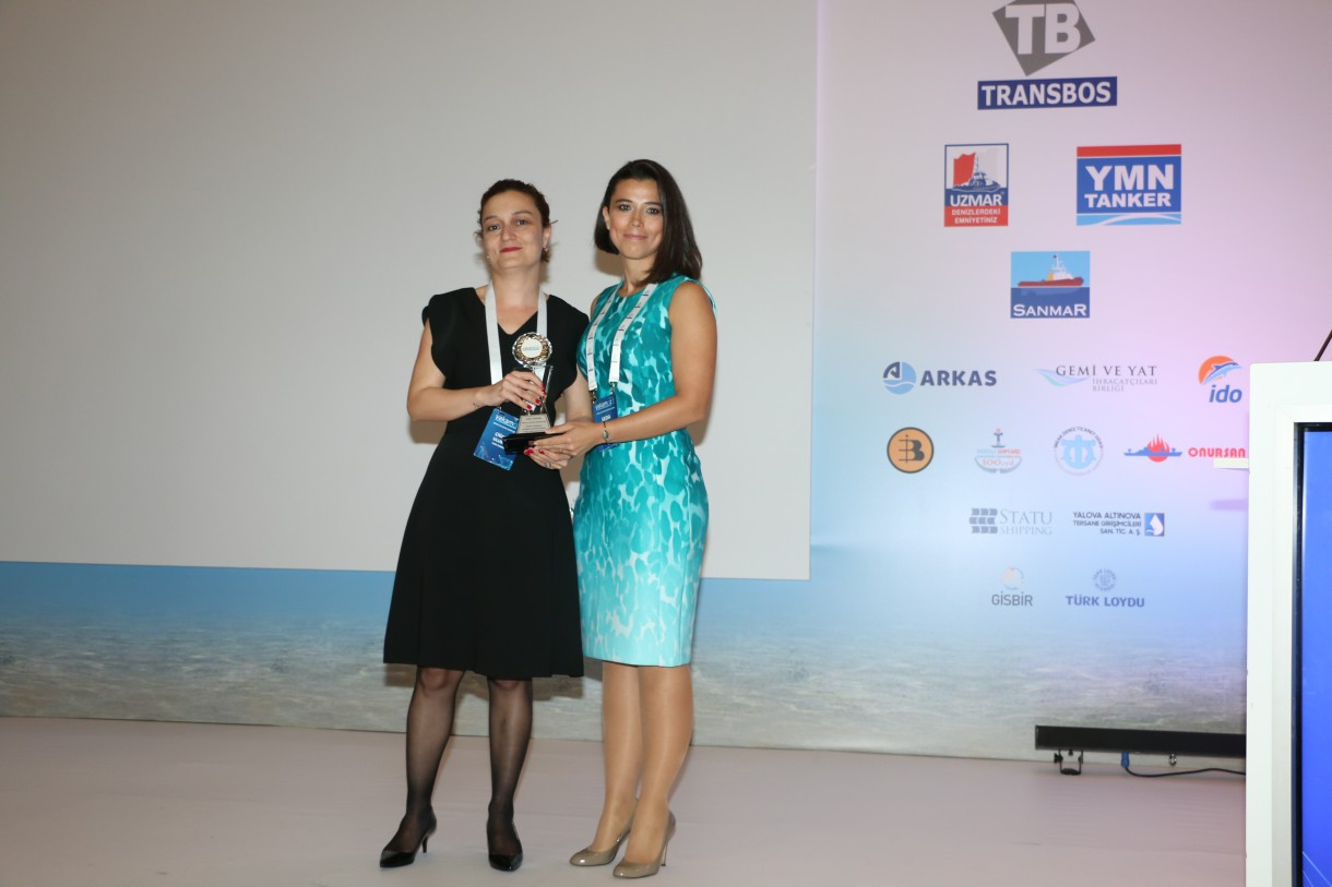 "YMN Tanker was recognised as ""The Marine Company Employs The Most Women"" at Yakamoz Symposium!"
